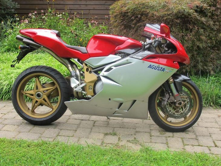 The One – 2000 MV Agusta 750 F4 Oro with 1606 miles!