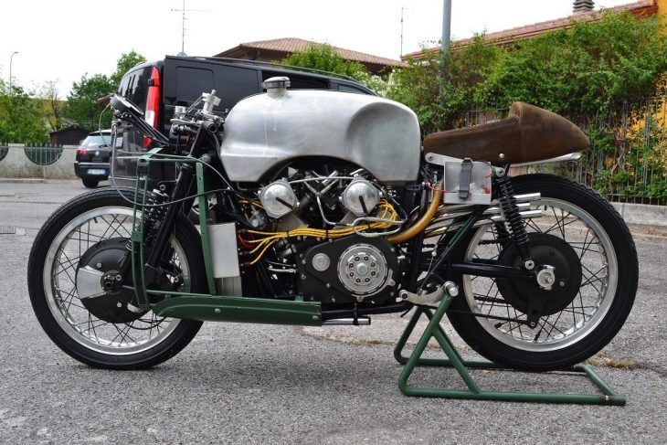 "Flawed Masterpiece: 1955 Moto Guzzi 8C ""Otto Cilindri"" for Sale"