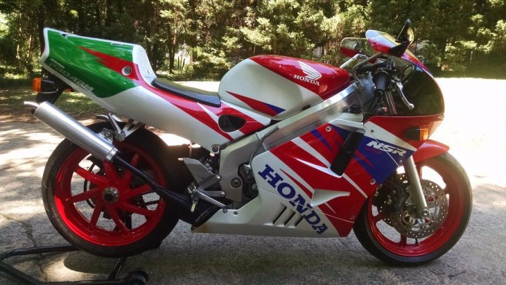 The Last and the Best? 1994 Honda NSR250R MC28 for Sale