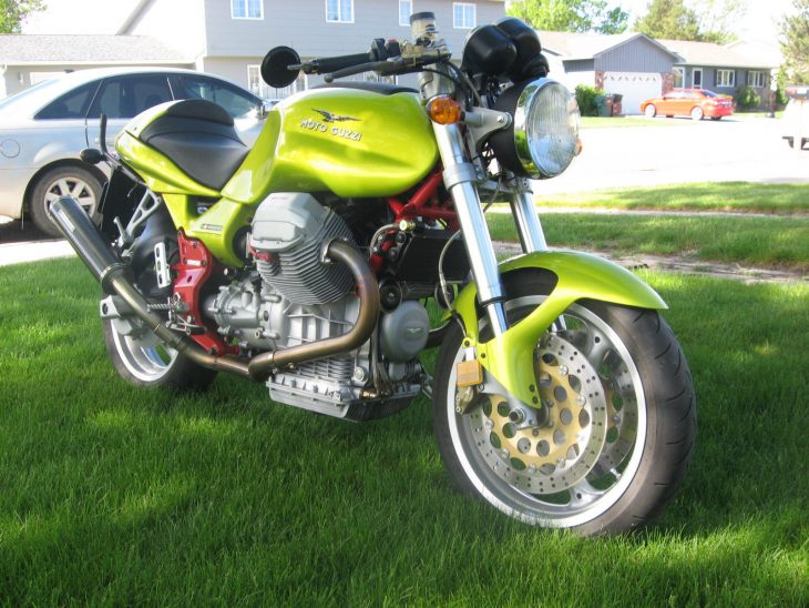 Sunday Goose: 2000 Moto Guzzi V11 Sport for Sale