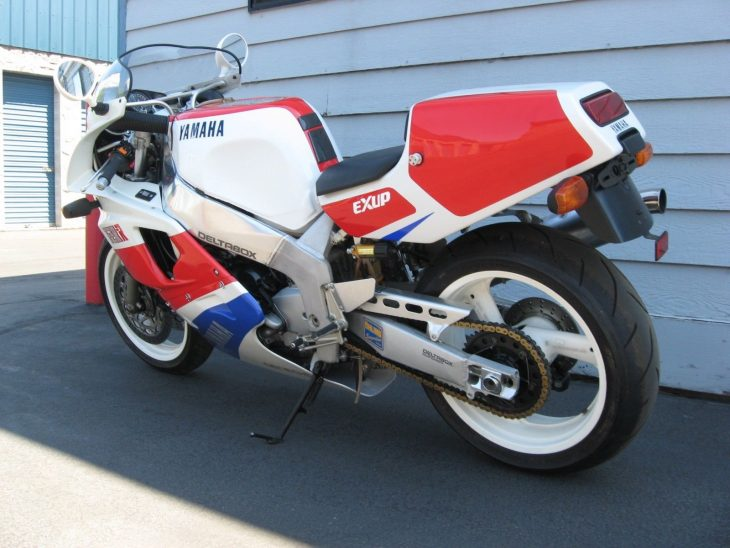 Extreme Ly Le 1989 Yamaha Fzr750r Ow01 With 1277 Miles