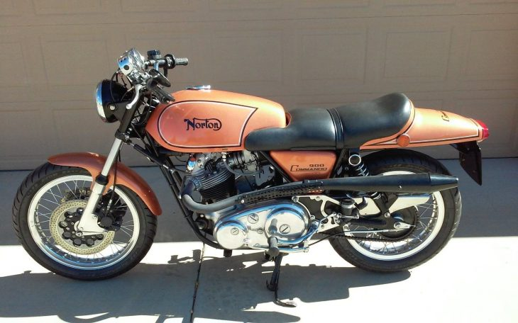 Throwback Thursday: 1974 Norton Commando Fastback