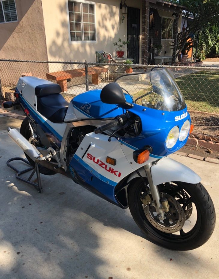 Slab with Spares: 1987 Suzuki GSX-R 750