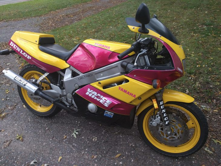 Garish but Good: 1992 Yamaha FZR600 Vance and Hines