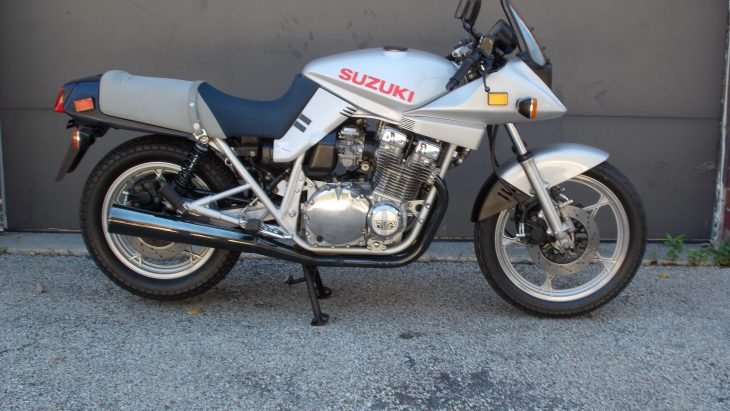 Featured listing: Like-new 1982 Suzuki Katana
