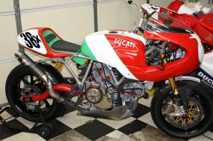 Unlikely Racebike: 2006 Ducati Paul Smart 1000LE for Sale