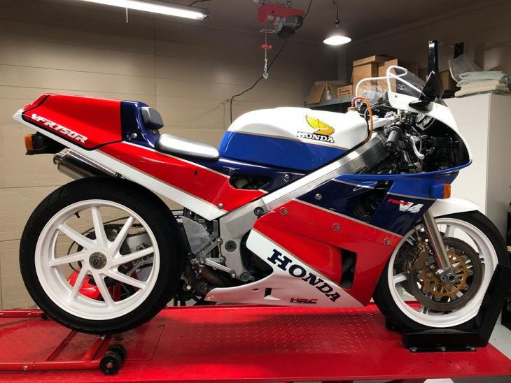 Featured Listing: Stunning 1987 Honda RC30!