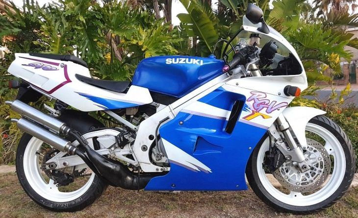 Late Two-Stroke: 1995 Suzuki RGV250