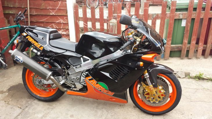 Collector Alert: 1998 Laverda 750SF/Formula with updates (UK)