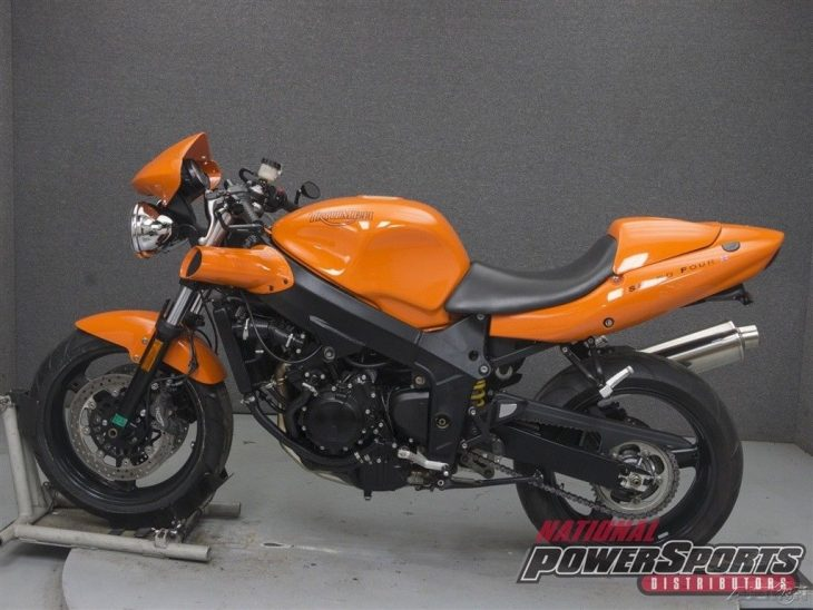 More or Less – 2003 Triumph Speed Four