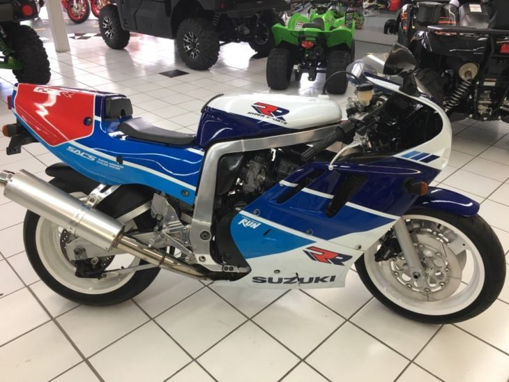 Very Rare Slingshot: 1989 Suzuki GSX-R750RK for Sale
