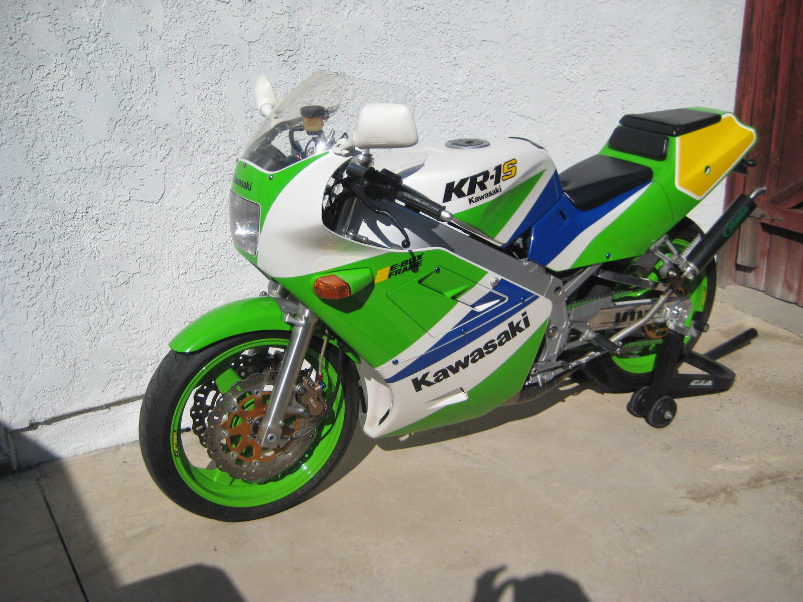 Cali-Titled Two-Stroke: 1990 Kawasaki KR-1S for Sale - Rare SportBikes For  Sale