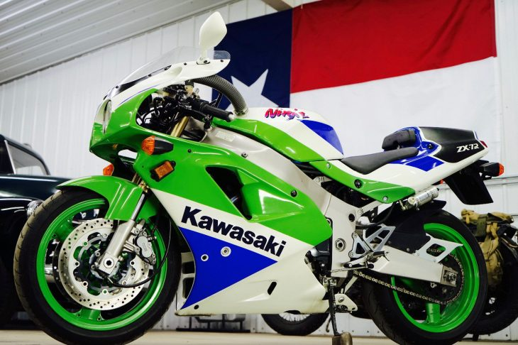 Mean and Very Green: 1991 Kawasaki ZX-7R K1 for Sale