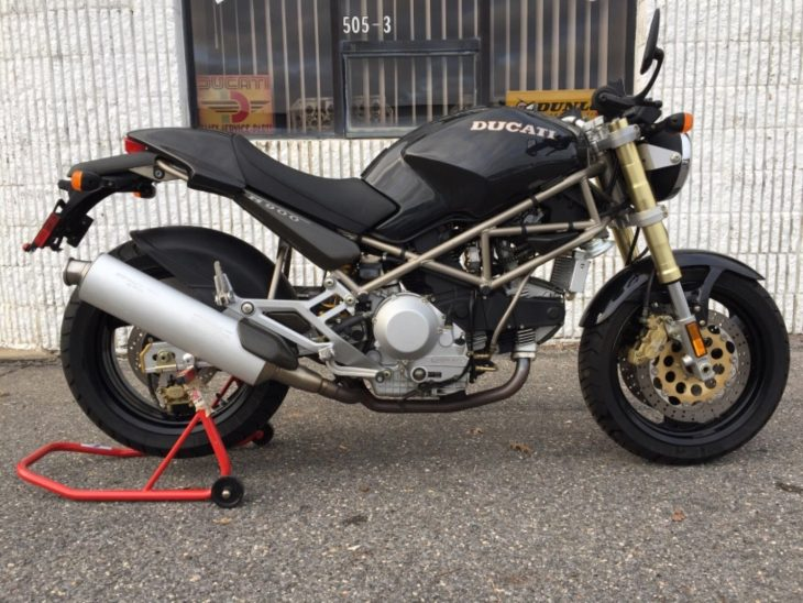 Time Capsule: 1994 Ducati Monster M900 with Just 931 Miles for Sale!