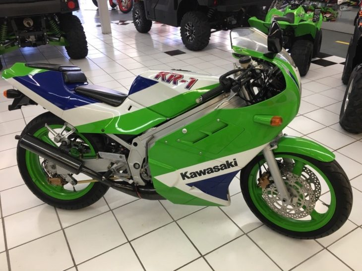 Say it Ain't So – 1988 Kawasaki KR-1 / KR250B