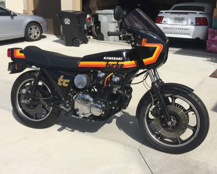 Boosted: 1978 Kawasaki KZ 1000 Z1-R TC Turbo for Sale