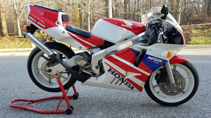 Very Clean, Very Sharp: 1991 Honda NSR250R MC21 for Sale