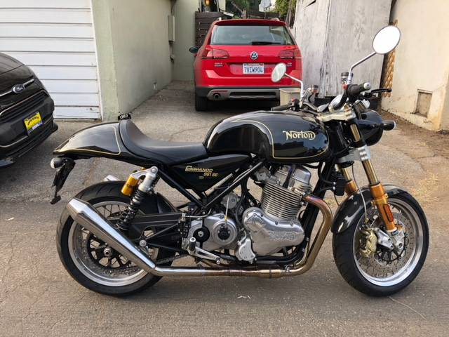 Featured Listing: 2015 Norton 961 Commando PLUS 1967 Norton Atlas!