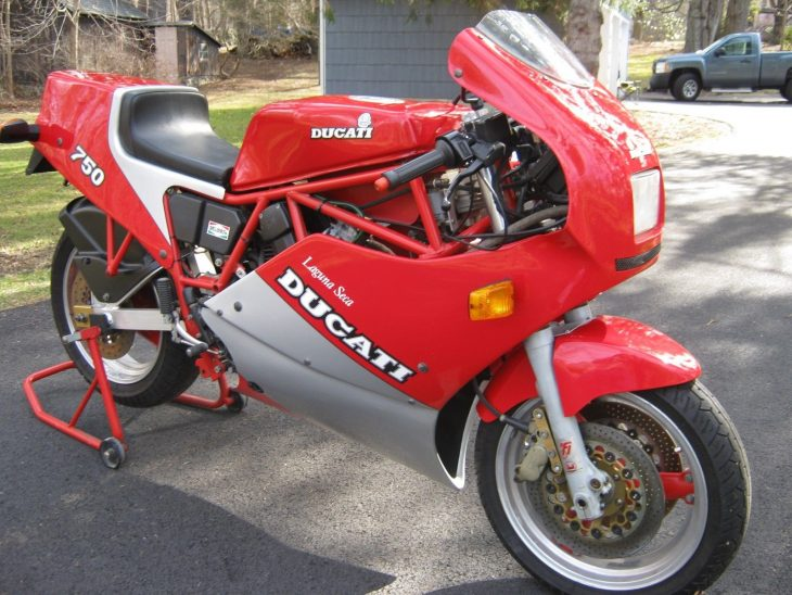 Uncompromising: 1987 Ducati 750 F1 Laguna Seca for Sale