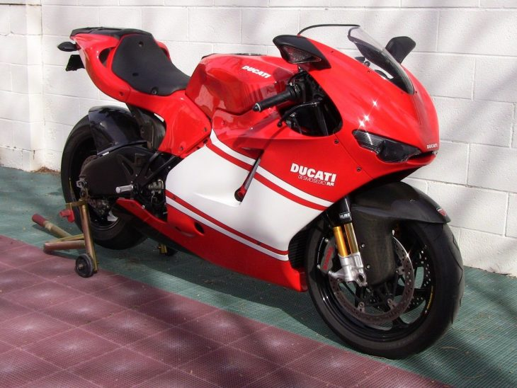 Misplaced Priorities: 2008 Ducati Desmosedici RR for Sale