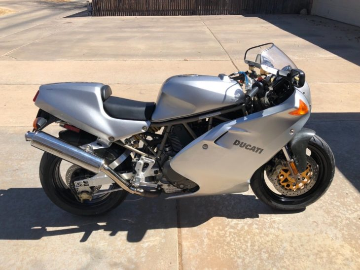 Not The End? 1998 Ducati 900SS FE #258
