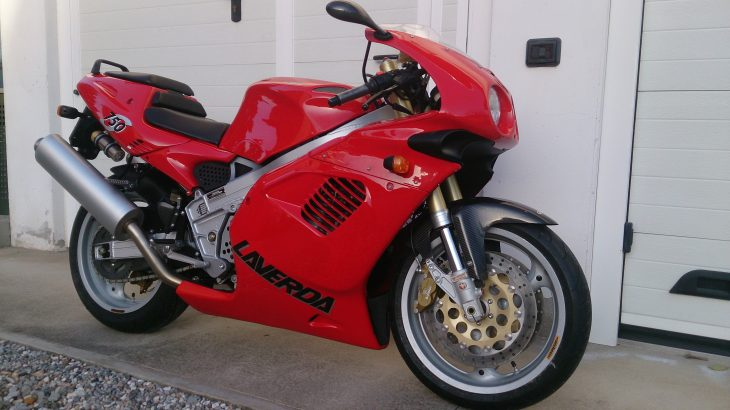 Featured Listing: Zero-mile Laverda 750S