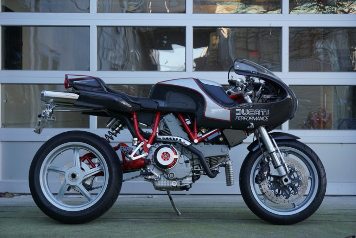 Featured Listing: Carbon-Bodied 2002 Ducati MH900e for Sale
