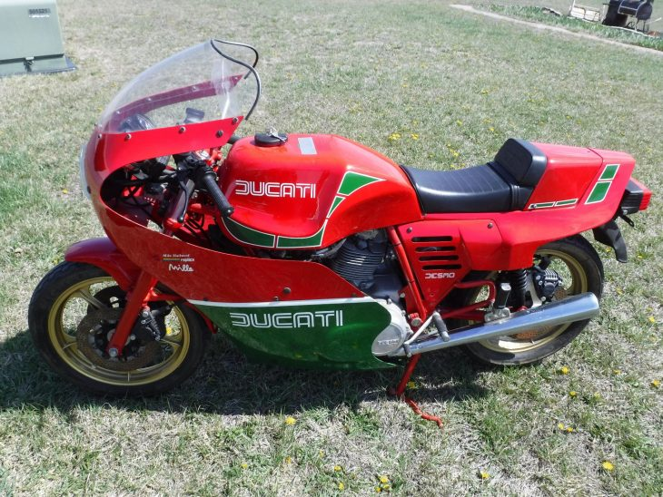 1986 Ducati MHR Mille with 397 Miles !