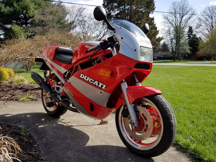 Featured Listing:  1990 Ducati 750 Sport