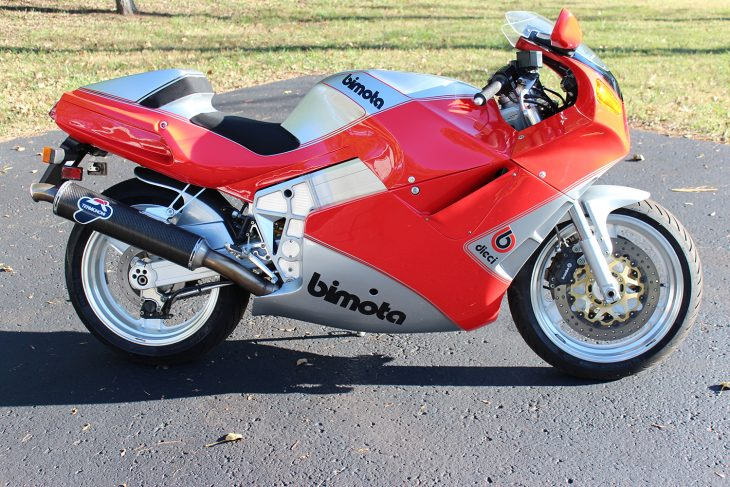 Featured Listing: 1991 Bimota YB10 Dieci for Sale