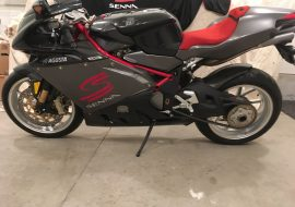 Featured Listing – 2007 MV Agusta F4 Senna with 85 Miles !