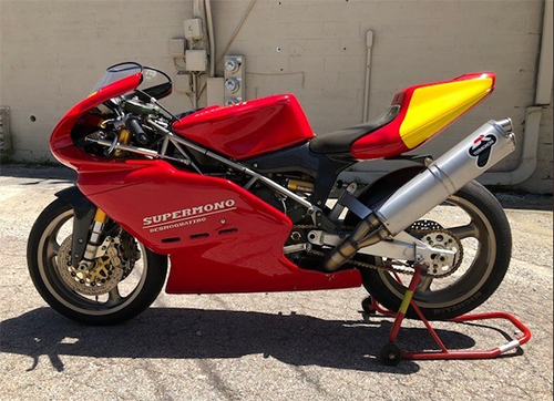 Trick Track Single: 1995 Ducati Supermono for Sale