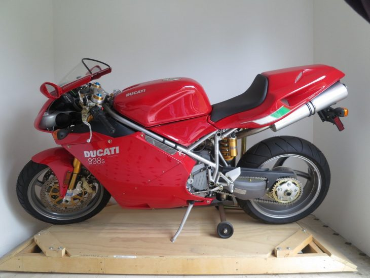Eight Mile: Nearly New 2004 Ducati 998S Final Edition for Sale