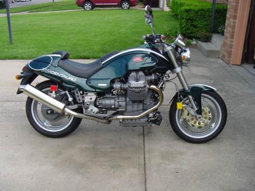 Some Assembly Required – 1998 Moto Guzzi V10 Centauro Sport