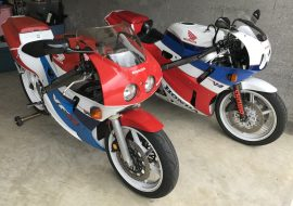 Featured Listing x 2 – 1989 and 1990 Honda VFR400R NC30 !