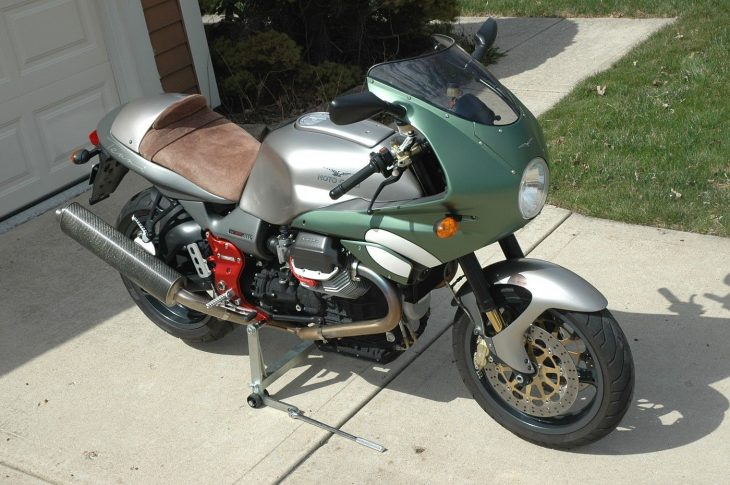 Two for the Road: 2002 Moto Guzzi V11 Tenni for Sale