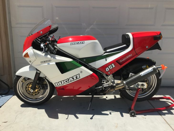 Featured listing: 1988 Ducati 851 Tricolore!