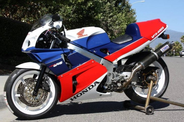 Unconventional NC30: 1992 Honda VFR400R for Sale