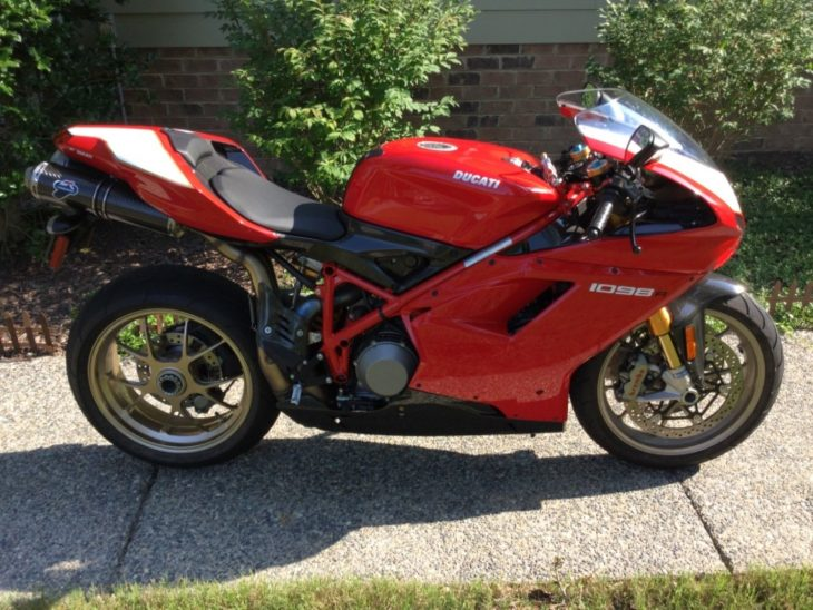Featured Listing: 2008 Ducati 1098R for Sale