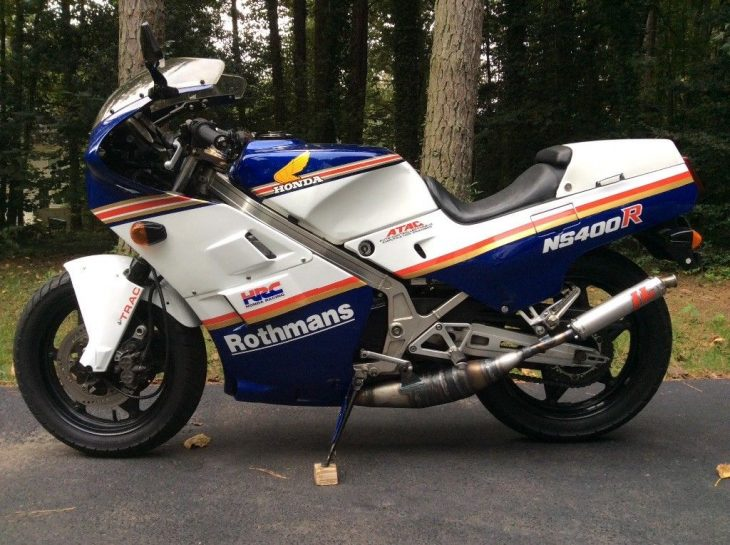 Cutting Edge: 1985 Rothmans Honda NS400R for Sale
