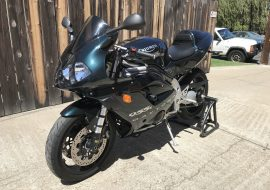 Featured Listing: Low-mile 2002 Triumph Daytona 955i Centennial Edition