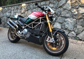 Featured Listing: 2008 Ducati Monster S4RS Tricolore for Sale
