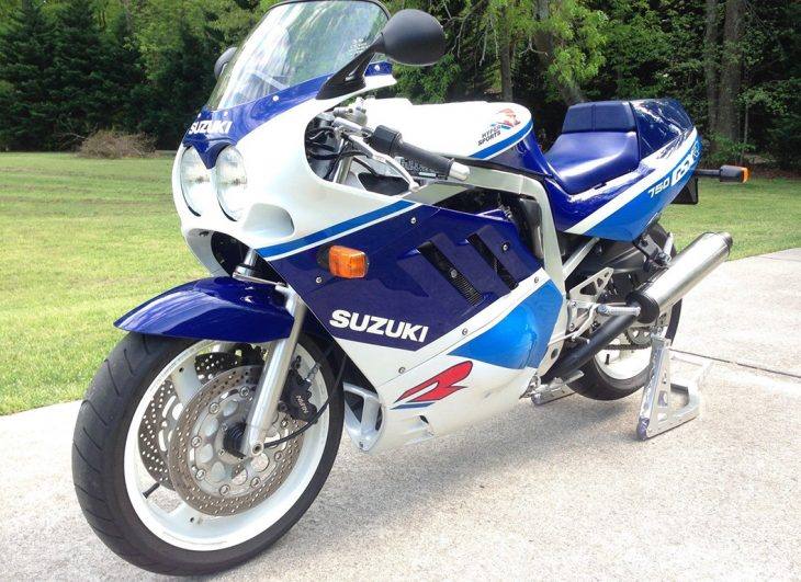Clean, Low-Mileage Slingshot: 1989 Suzuki GSX-R750 for Sale