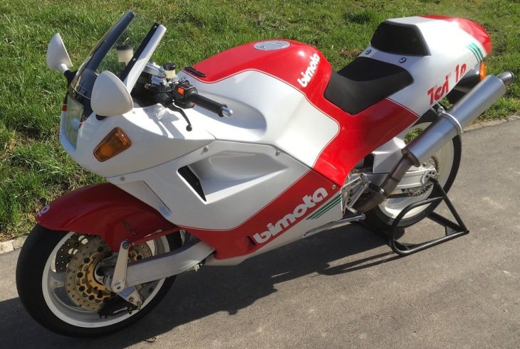 Master's Thesis: 1992 Bimota Tesi for Sale