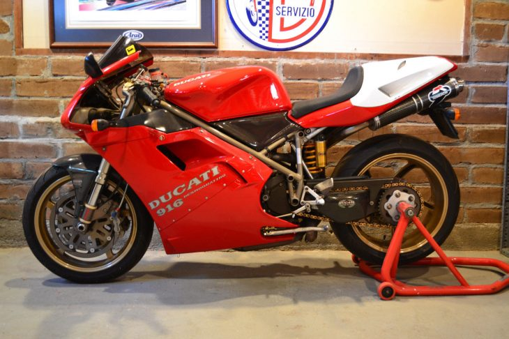 The Good Stuff: 1995 Ducati 916 for Sale