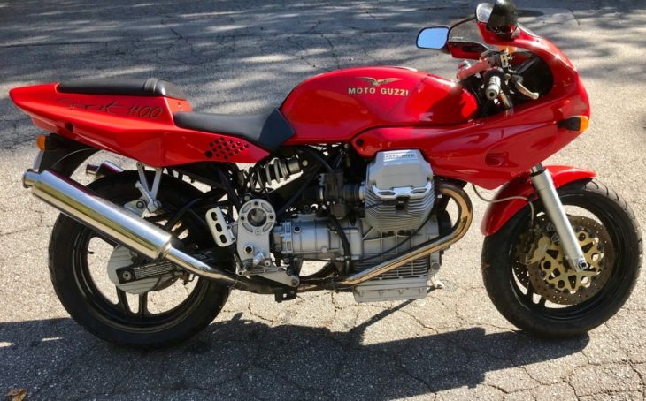 Torque of the Town: 1996 Moto Guzzi Sport 1100 for Sale
