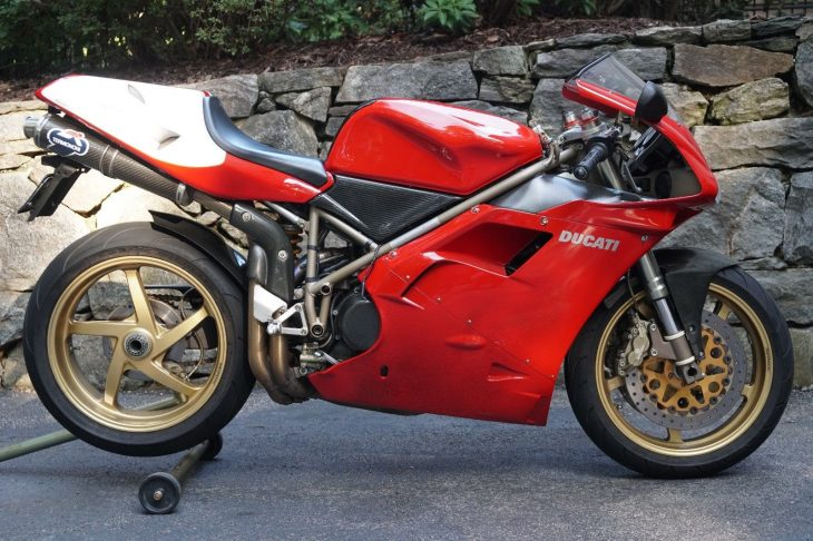 Sport Production Speciale: 1998 Ducati 916 SPS for Sale