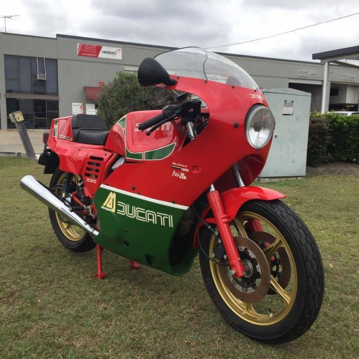 Big money: Virgin 1985 Ducati MHR Mille