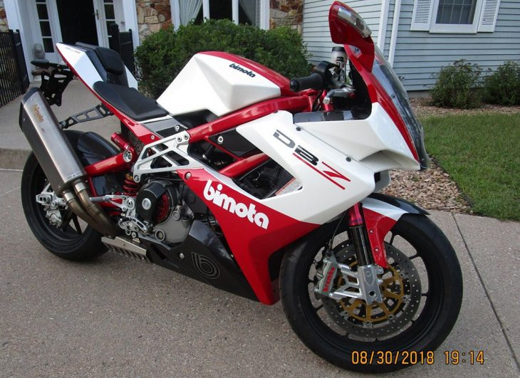 Early-Production 2009 Bimota DB7 for Sale