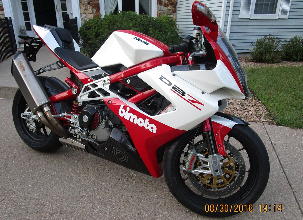 Early Production 2009 Bimota Db7 For Sale Rare Sportbikes For Sale